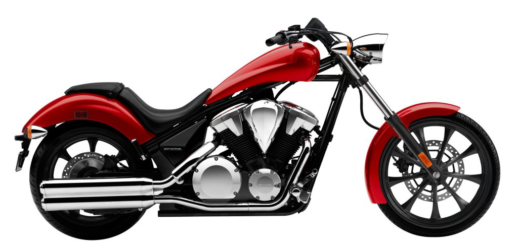 Honda Fury in Candy Red