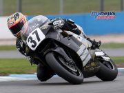 Josh Brookes test the Norton Rotary