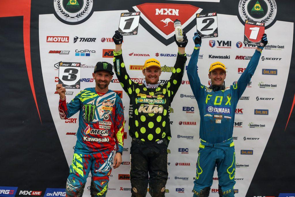 MX1 Podium - Shepparton Round 7