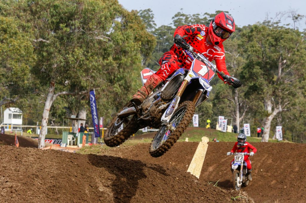 Dean Ferris currently leads the MX1 class in the MX Nationals
