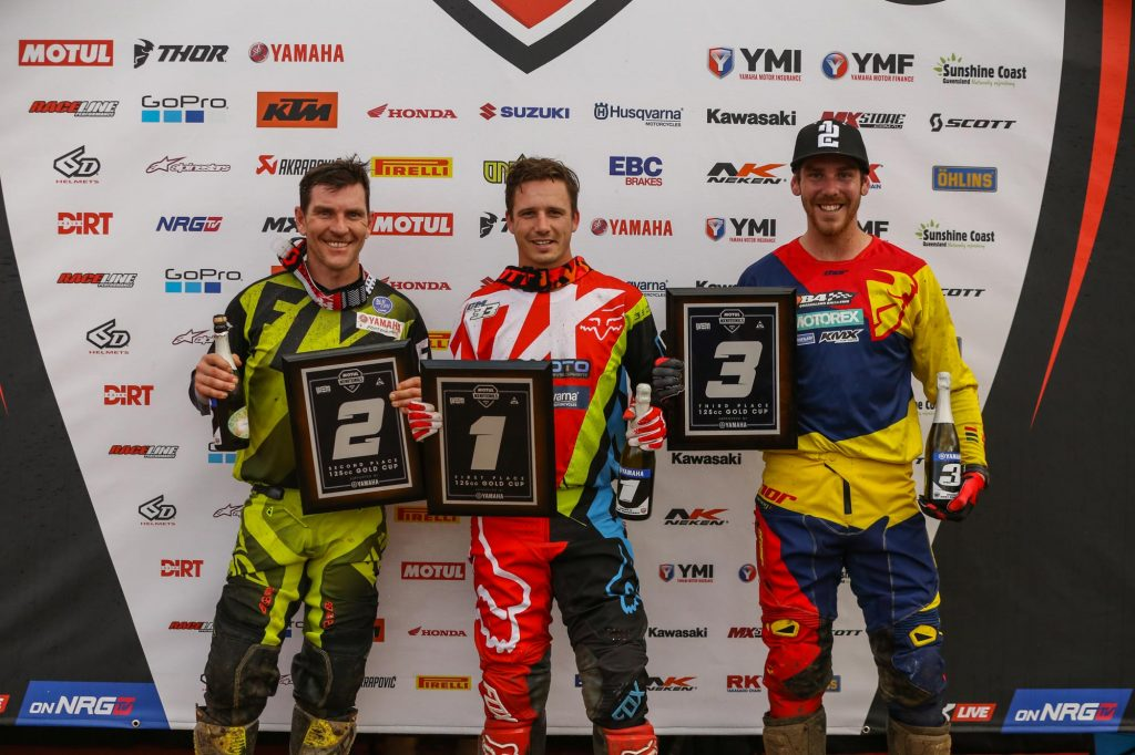 125cc Gold Cup Championship Final Standings Podium