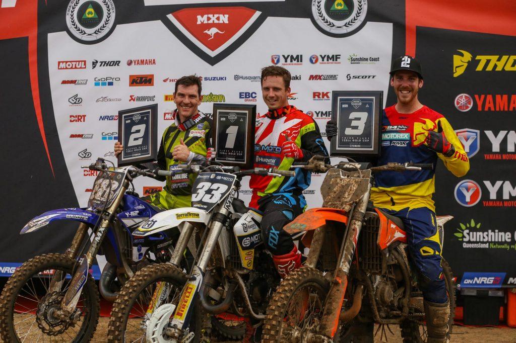 Cameron Taylor, Cody Mackie,Kerrod Morrissy