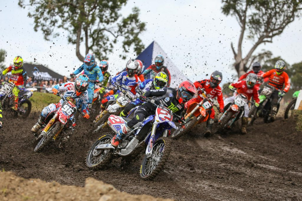 Wilson Todd took the holeshot in Moto 1