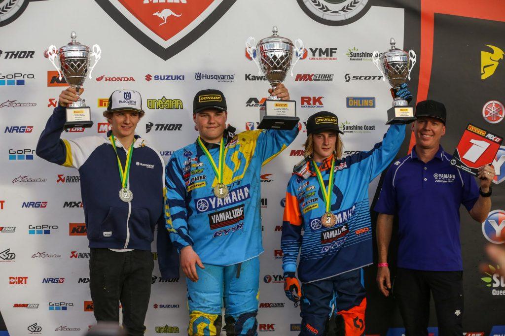 2017 Motul MXD Championship Podium - Port Macquarie