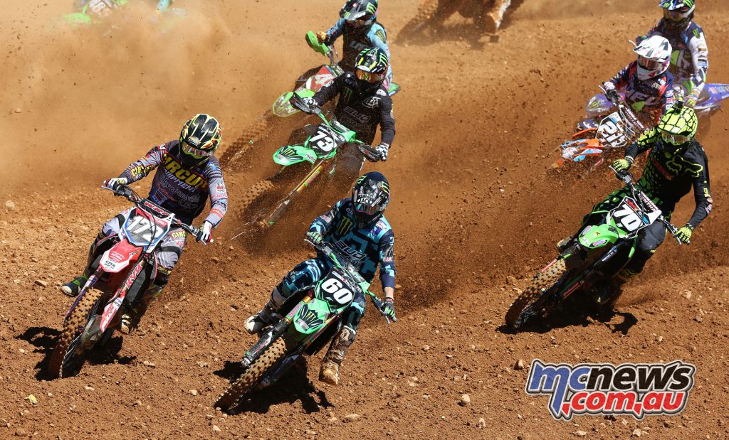 Tristan Charboneau leads the EMX250