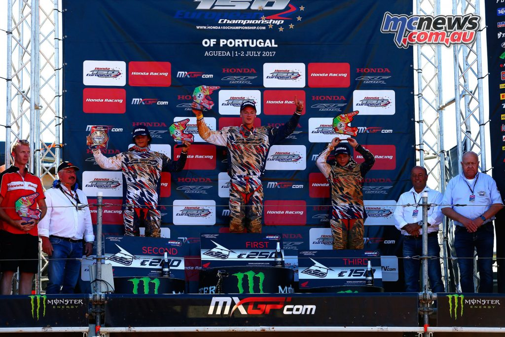 Honda EMX150 Podium - Portugal