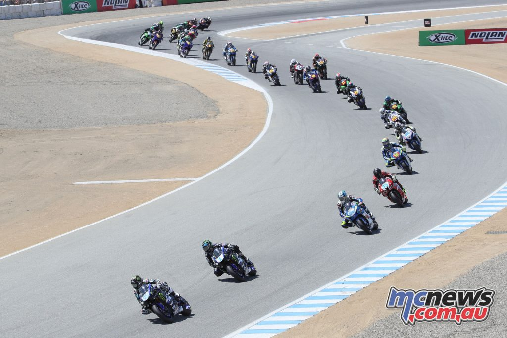 Gerloff leads the Supersport field
