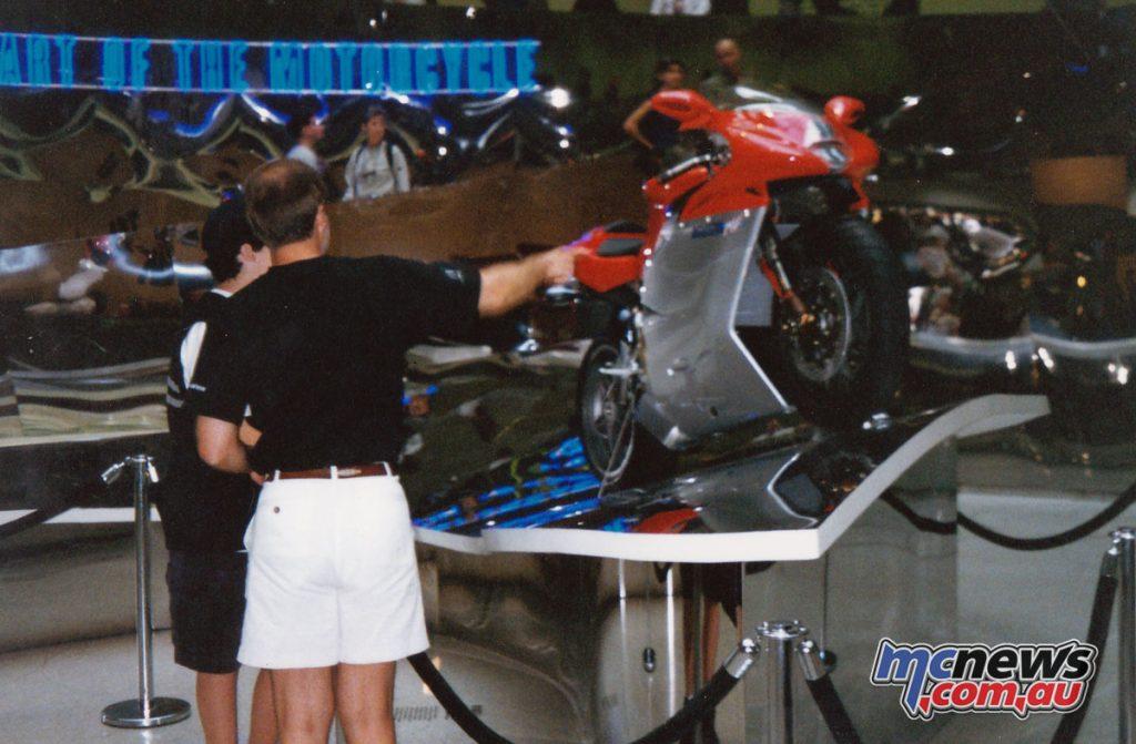 Guggenheim Museum's Art of the Motorcycle exhibit