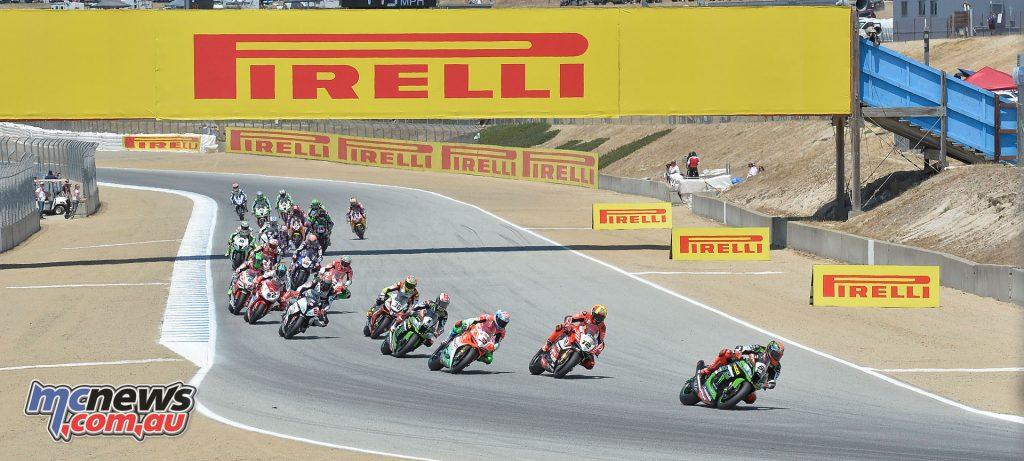Superbike Race 2 - Laguna Seca