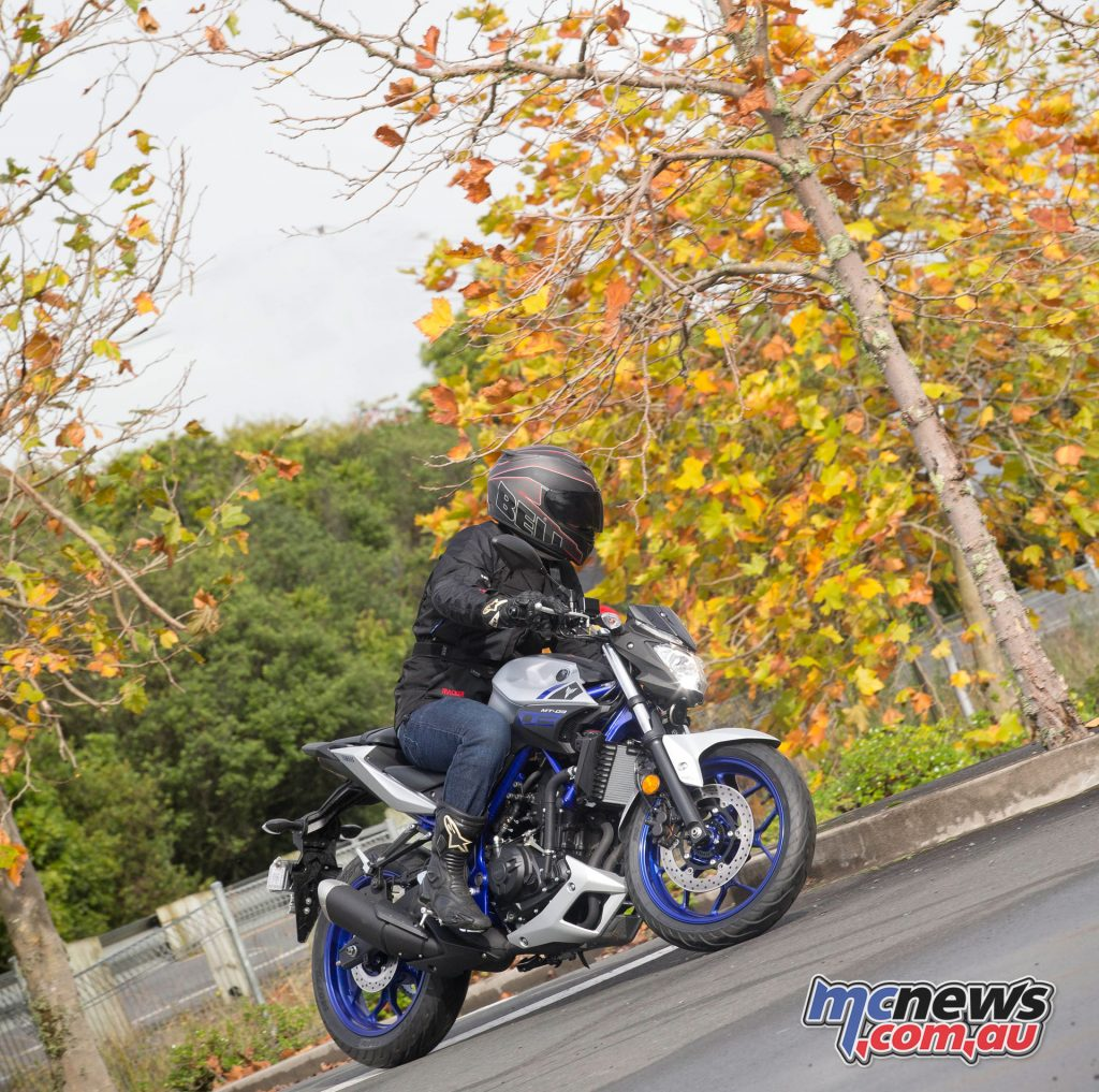 The MT-03 ticks all the boxes for the LAMS segment, while still offering a great commuter and enough thrills to have fun