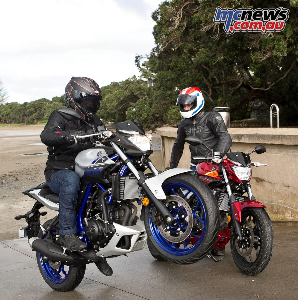 No need to scare yourself to have fun on the MT-03, whether you're a learner or experienced rider