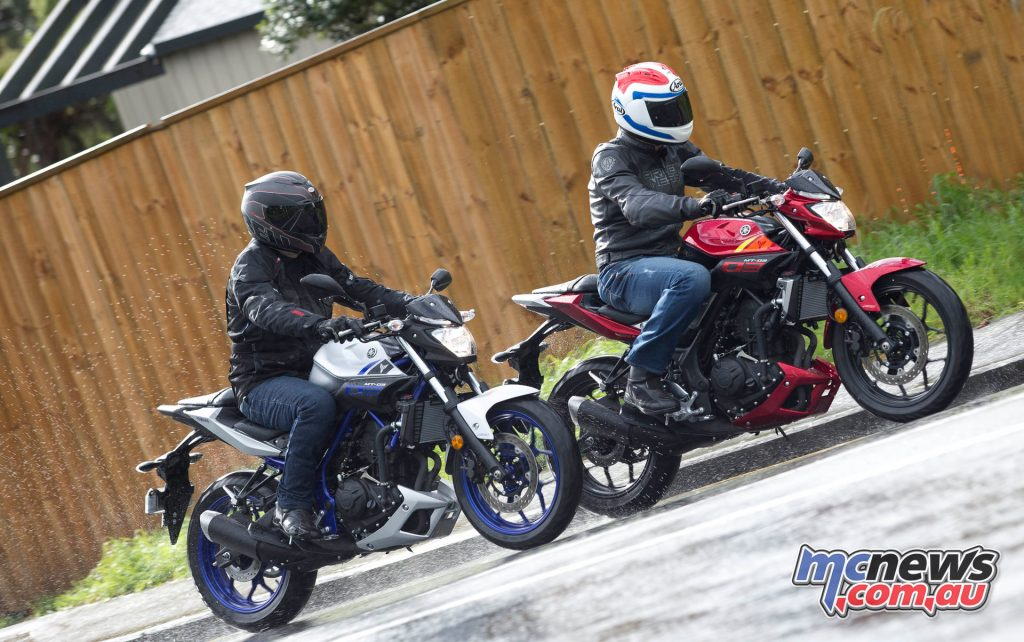 Yamaha's MT-03 proved a popular choice even with more powerful machinery on offer