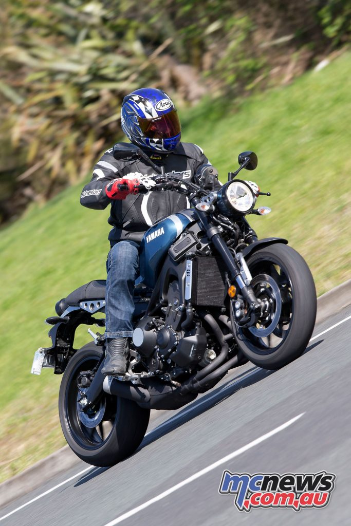 Yamaha's XSR900 really impresses