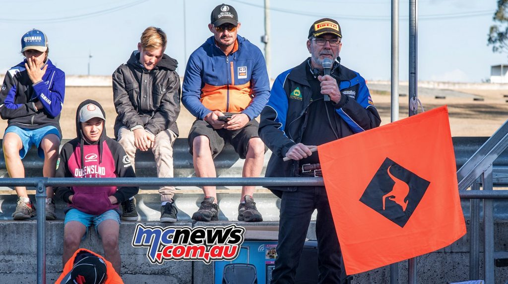 Organisers knew kangaroos could cause problems this weekend and thus a new 'Roo Flag' was unveiled to competitors at the rider's briefing - Image by Half Light