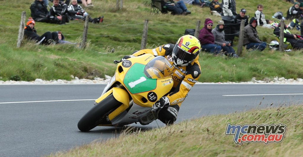 Ian Lougher - Dunlop Lightweight Classic TT Race -  Photo Stephen Davison / Pacemaker Press Intl