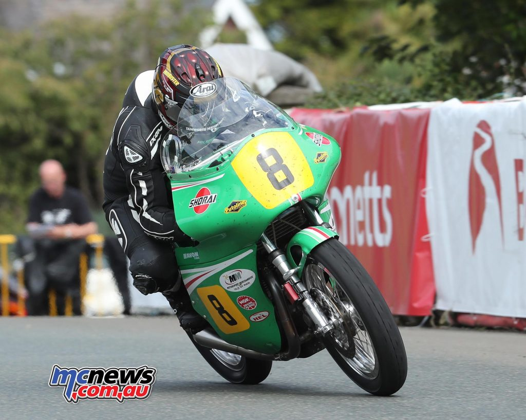 Josh Brookes (500 Paton/Team Winfield) at Sulby Bridge during the Bennetts Senior Classic TT race. PICTURE BY DAVE KNEEN/PACEMAKER PRESS