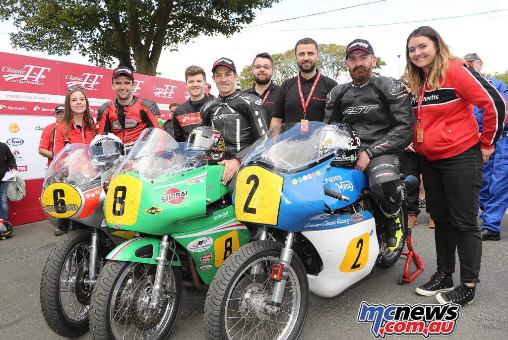 Classic TT 2017 - Senior TT Results Joshua Brookes Paton / Team Winfield 01:22:11.712 110.167 GP2 Silver Jamie Coward Norton / Ted Woof / Craven Manx Norton 01:22:45.742 109.412 GP1 Silver William Dunlop Honda / Davies Motorsport 01:24:18.778 107.400 GP2 Silver