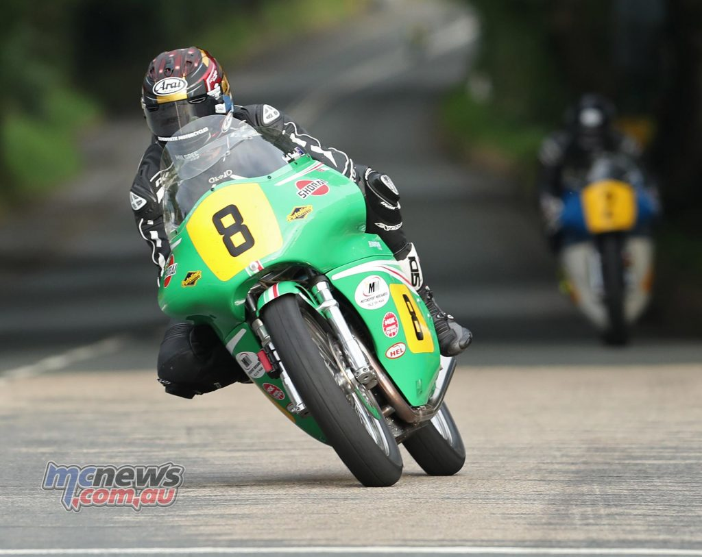 Josh Brookes (500 Paton/Team Winfield) at Ballacraine during qualifying for the Bennett's Classic TT.