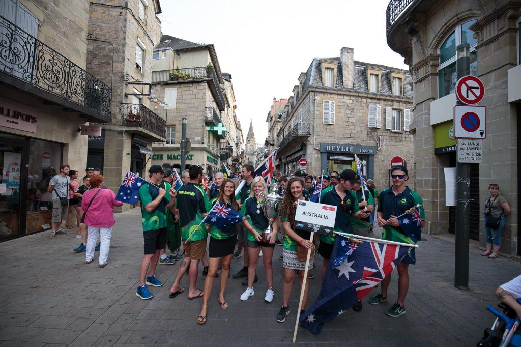 The Aussie ISDE Teams in Brive, France