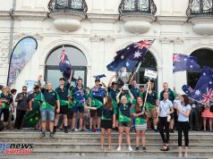 The Aussie ISDE Teams in Brive, France