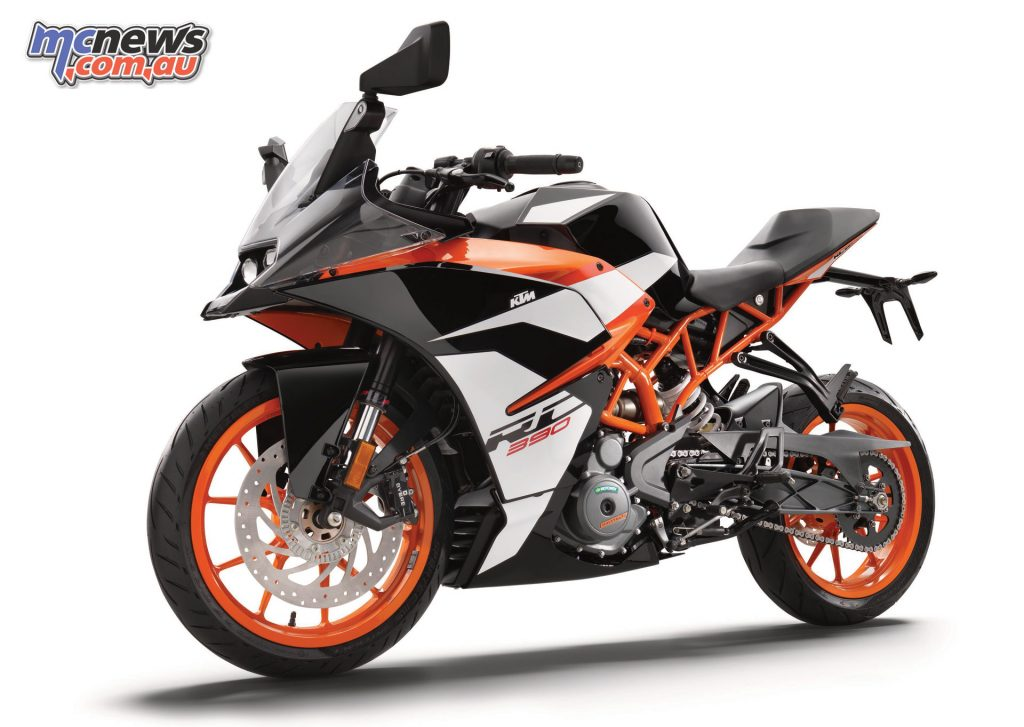 The 2017 KTM RC 390