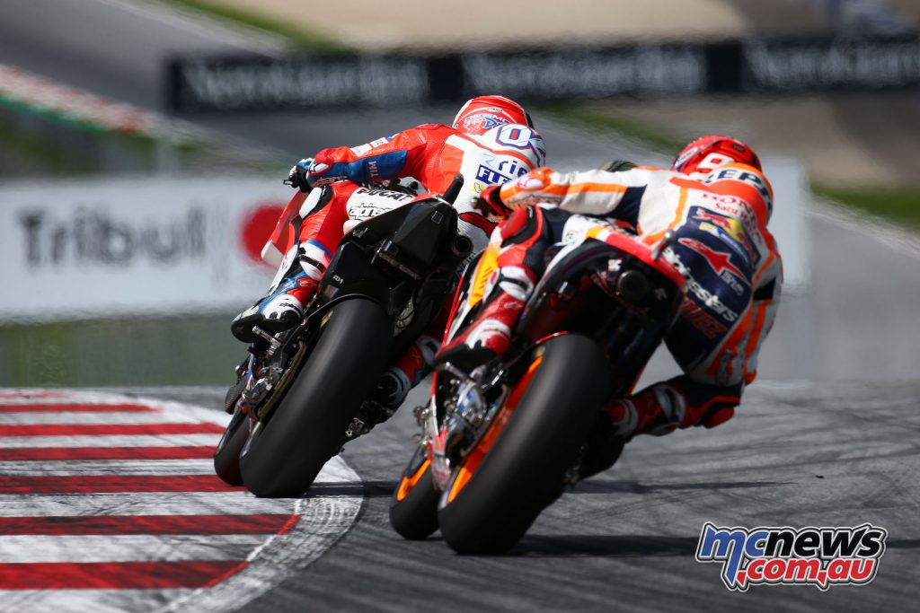 Dovizioso and Marquez