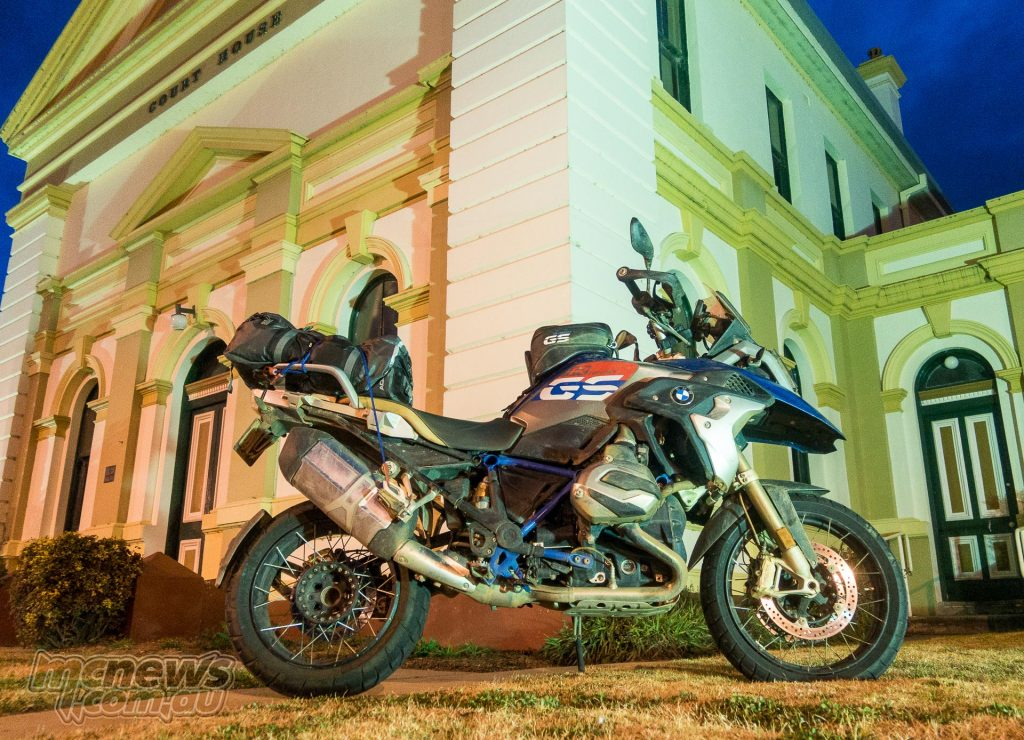 The 2017 R 1200 GS Rallye X at Booroowa