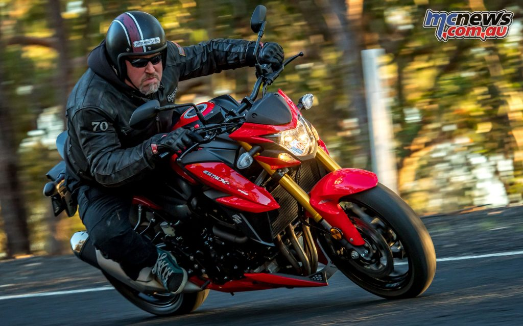 The GSX-S750 is a good buy at $12,990 ride-away