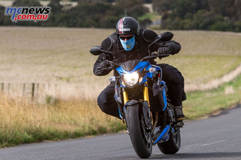 Suzuki are targeting riders returning to the fold or those fresh off a LAMS machine, I reckon it's probably right in that regard