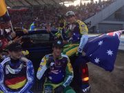 Australian Speedway Team took silver at the 2017 World Games