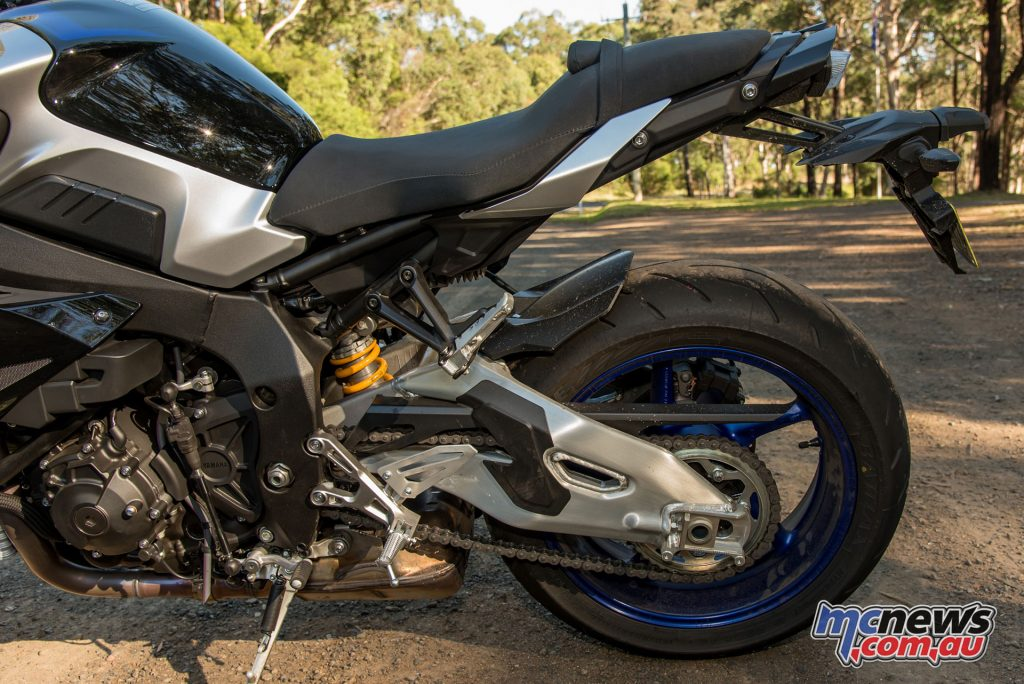 The MT-10SP comes at a $3000 premium but for the Öhlins alone is worth it...