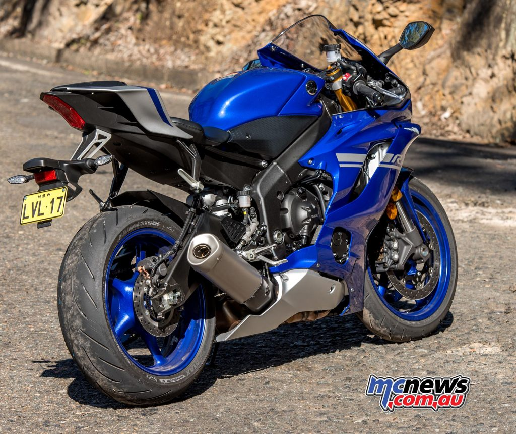 The new YZF-R6 would be my choice of racing machine if I was to give it a try on the tarmac