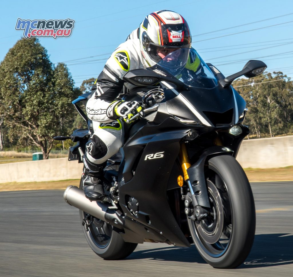 Todd Jarratt on the 2017 Yamaha YZF-R6