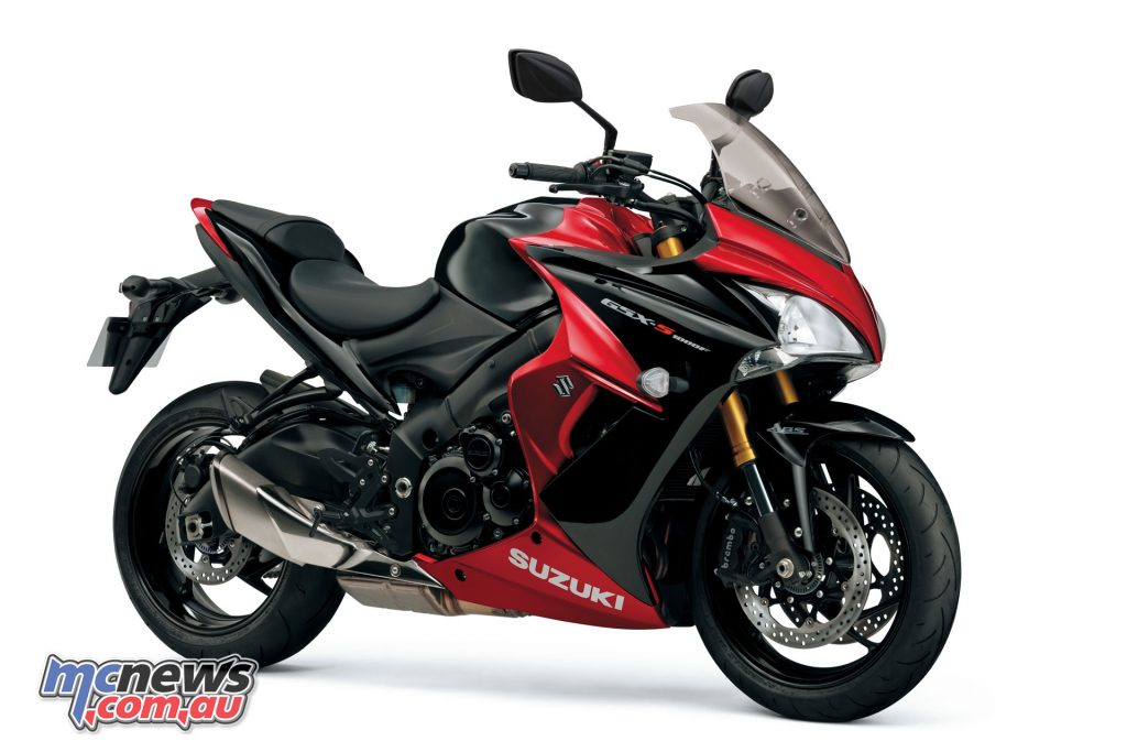 Power is up 5hp on the 2018 GSX-S1000 and GSX-S1000F