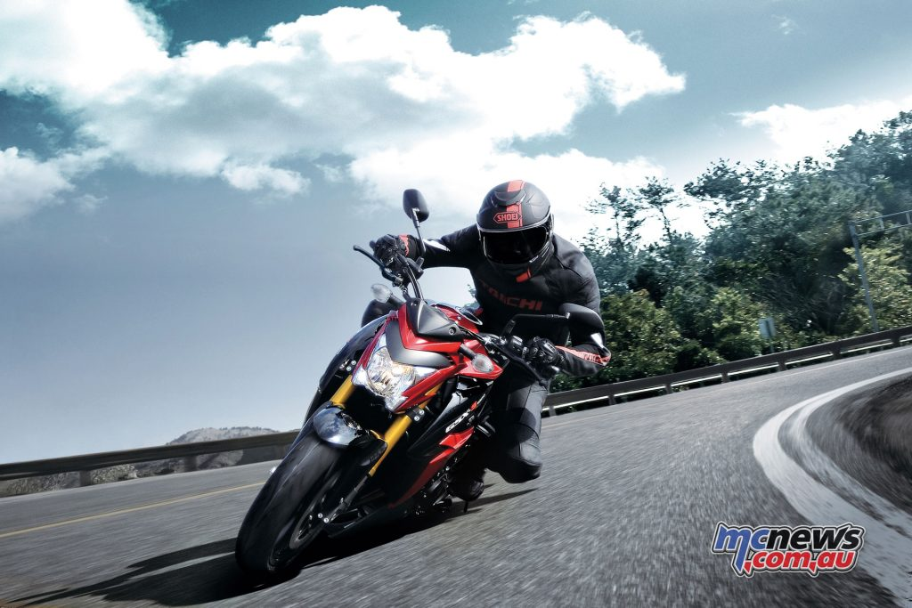 The GSX-S1000 is available from Australian dealerships for a recommended retail price of $15,190 + ORC ($16,690 Ride Away)