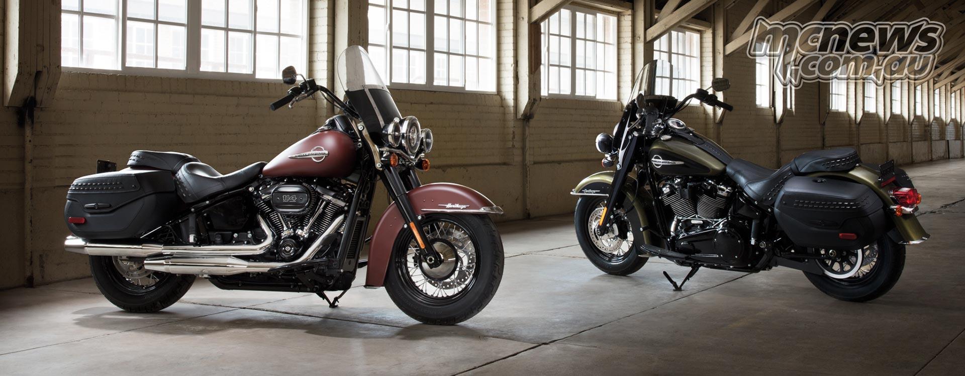 2018 Harley-Davidson Range | 8 New Softails | 114c i  | MCNews com au