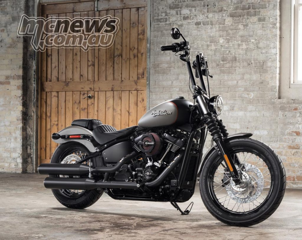 2018 Harley-Davidson Street Bob - With Accessories