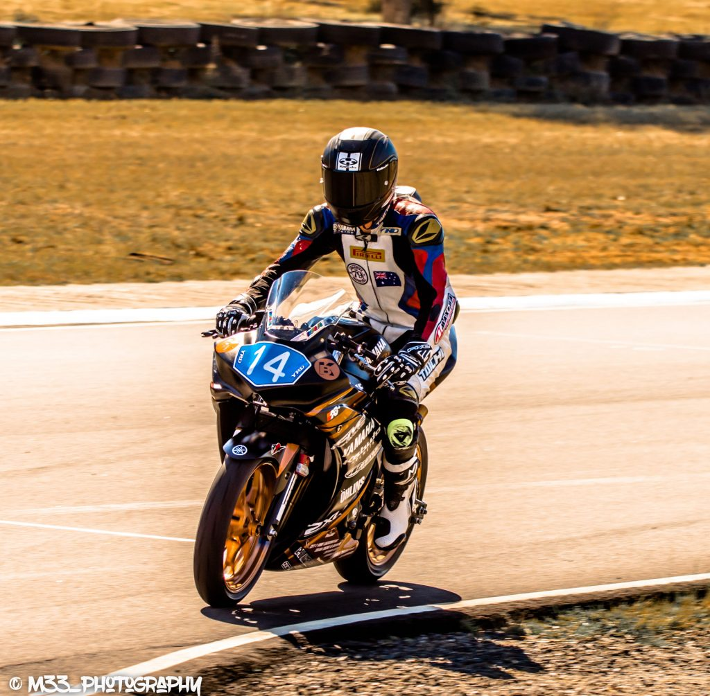 The goal was to return to racing for the Morgan Park home ASBK round