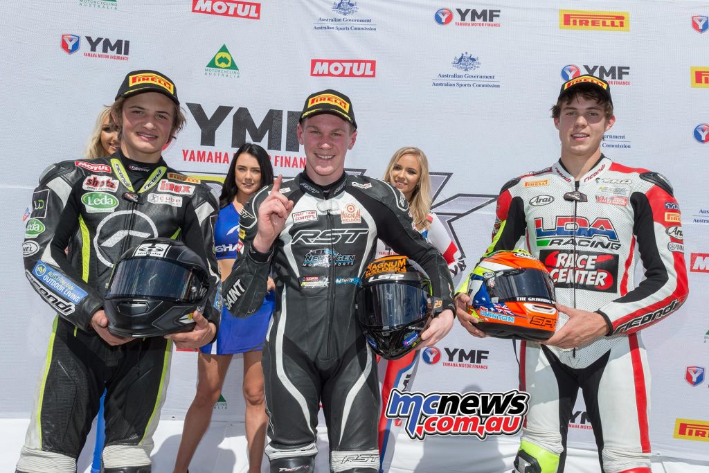 Motul Supersport - Morgan Park Race One Results Ted Collins – Suzuki Tom Toparis - Kawasaki +6.733 Nic Liminton - Yamaha +11.315