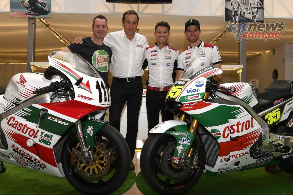 Aaron Slight reunited with Castrol Honda RC45