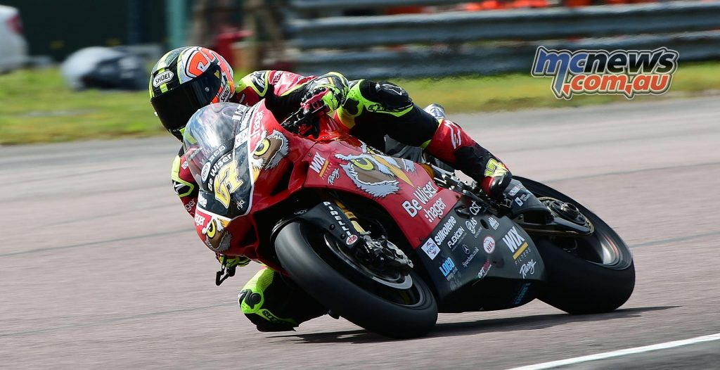 Poor round for Shakey Byrne but the Ducati man still leads series by 19-points
