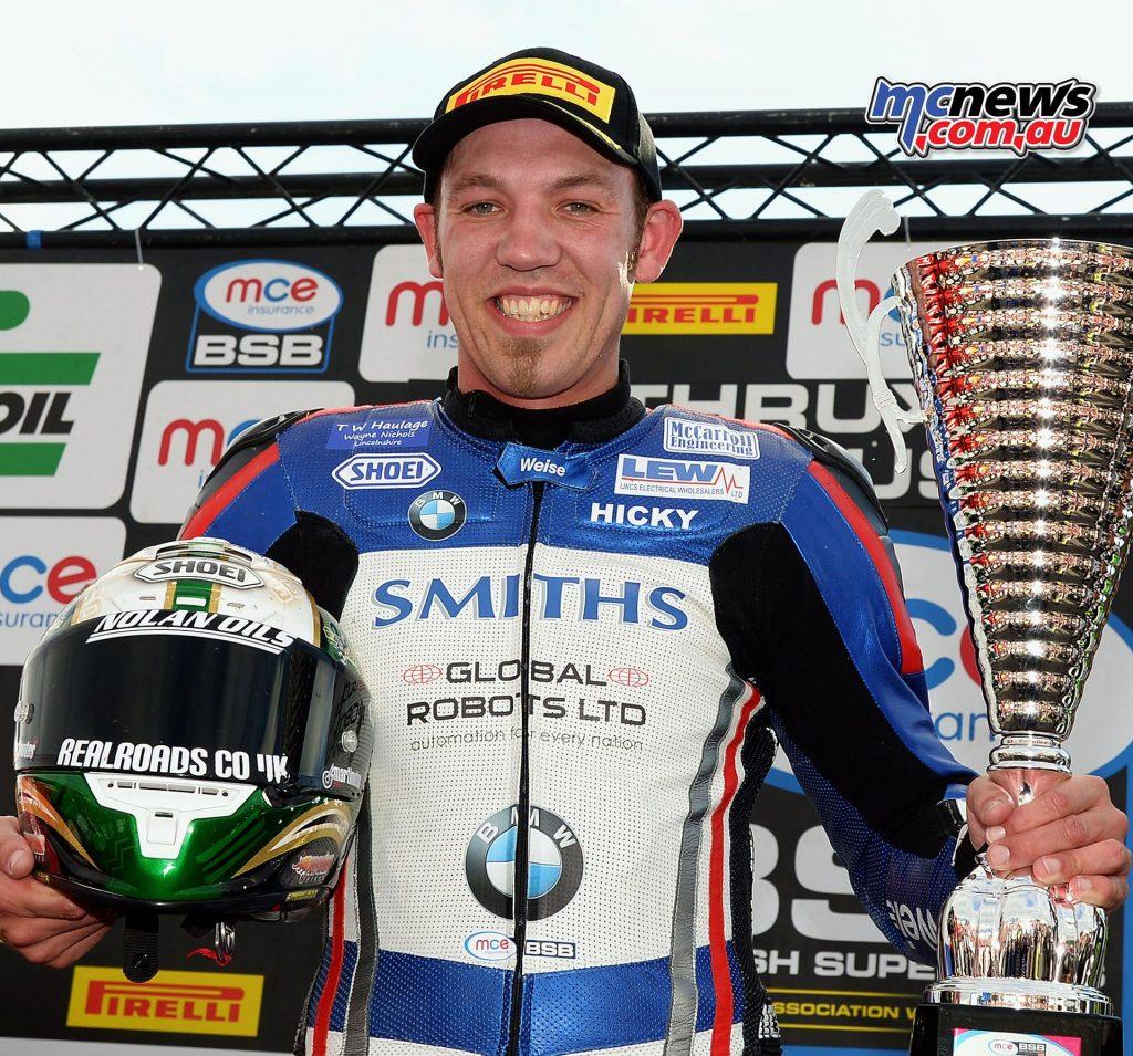Peter Hickman - Smiths Racing BMW