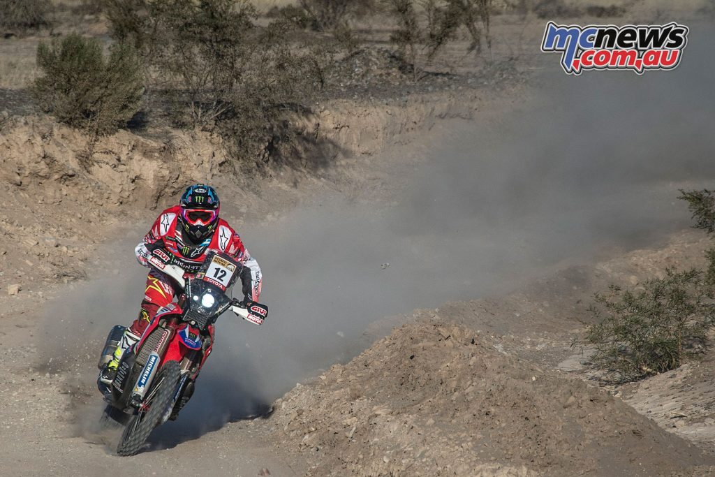 Honda takes the leadership in the Desafío Ruta 40 Stage 2