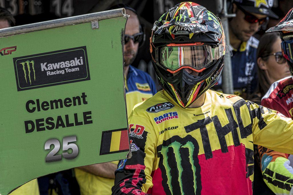 Desalle is set to lead the Belgian MXoN team
