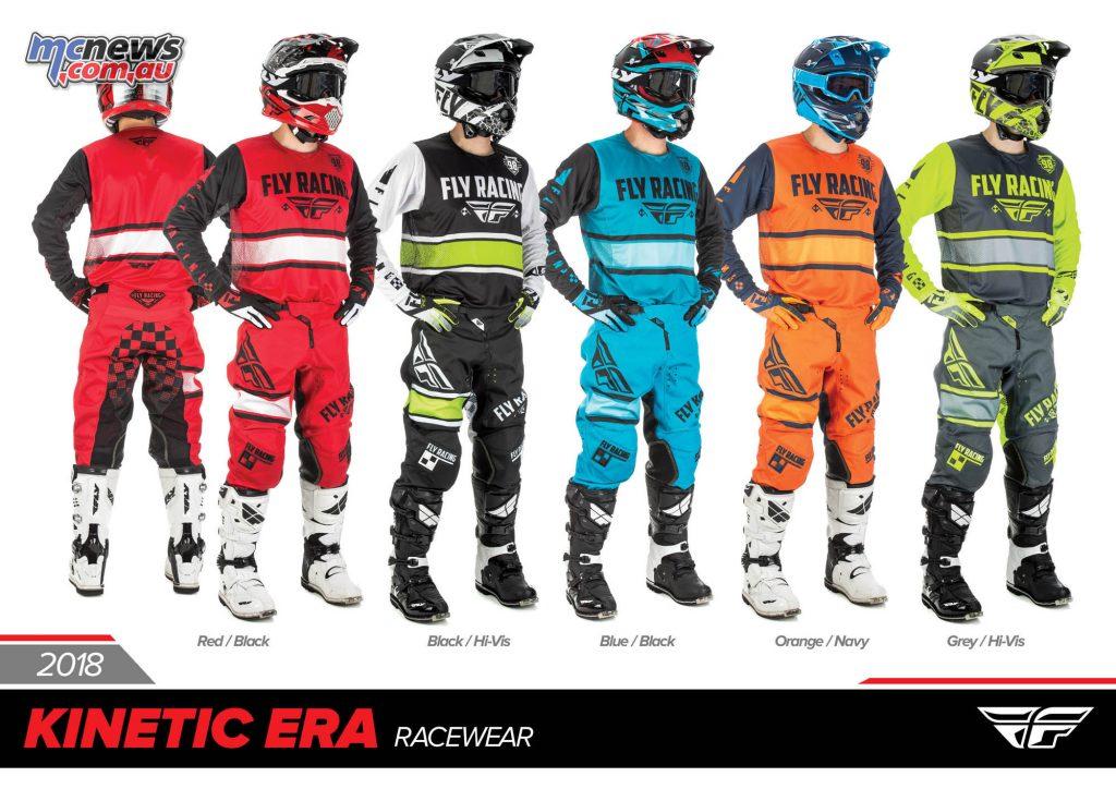 2018 Fly Racing Kinetic Era Racewear