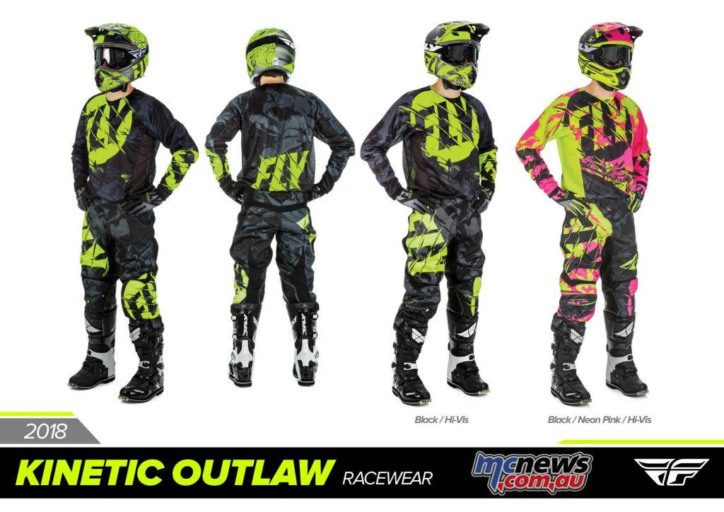 2018 Fly Racing Kinetic Outlaw Racewear