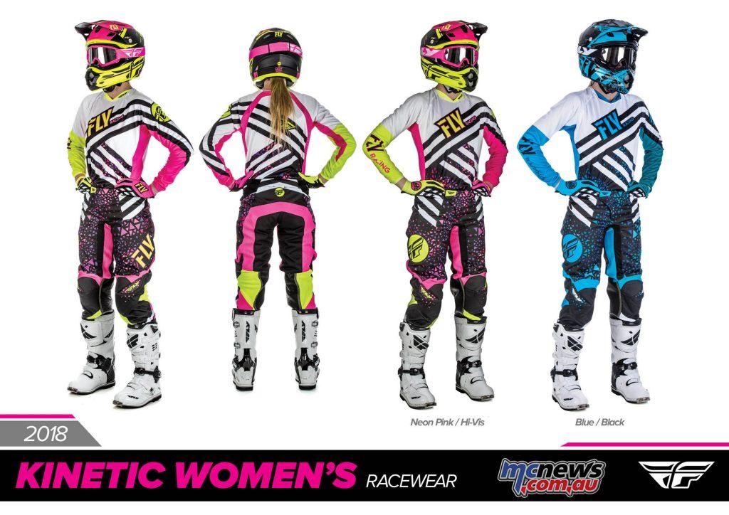2018 Fly Racing Women's Kinetic Racewear