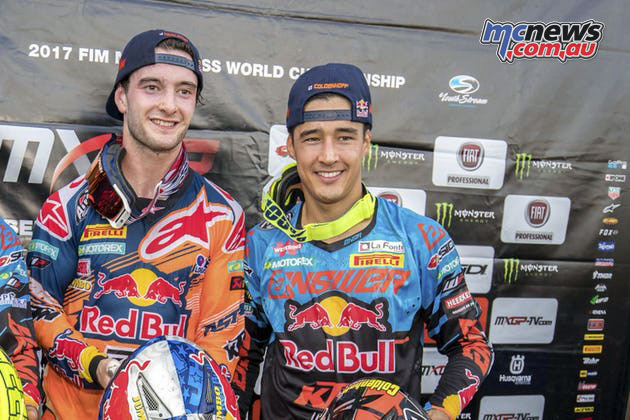Herlings and Coldenhoff to lead the Netherlands MXoN Team