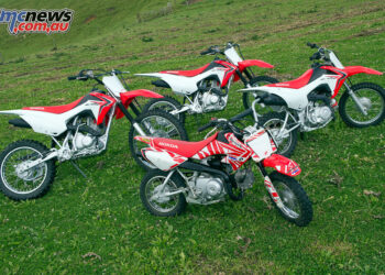 Honda's CRF Kids/Juniors range - The CRF50F, CRF110F, CRF125F and CRF125FB