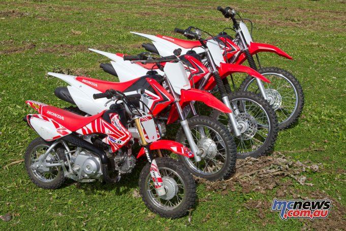 Honda CRF50F, CRF110F, CRF125F/FB